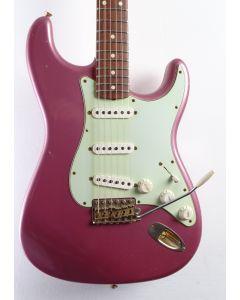 Fender Customshop 60' Relic Stratocaster Burgundy Mist Matching Headstock 2011