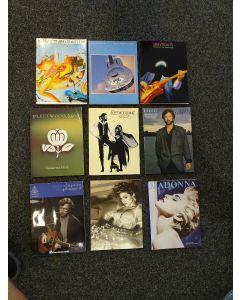 gitaarboeken van Clapton, Elvis, Sting, Queen, Cray etc etc.