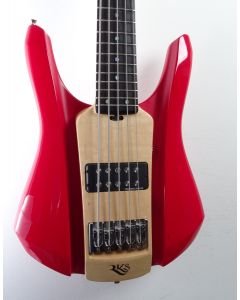 RKS Symbass Solid Body Red 5